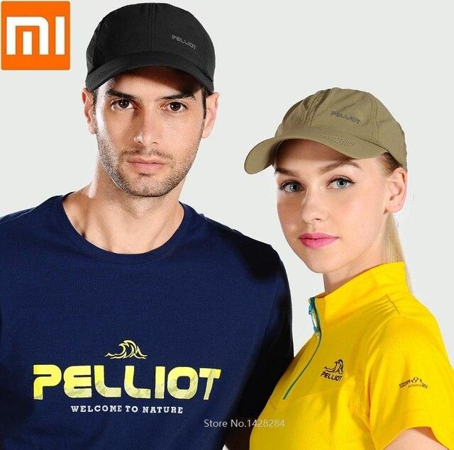 Youpin protection solaire casquette de baseball lumière mince séchage rapide respirant mode hommes femmes sports de plein air grand chapeau maison intelligente