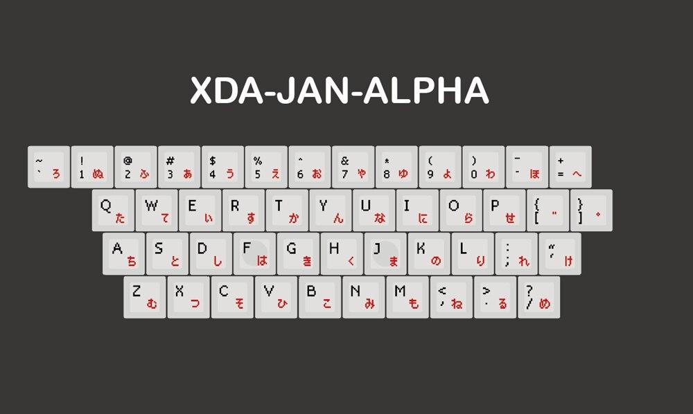 像素XDA-alpha