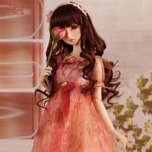 Cataleya длинные прямые и кудрявые SD волосы BJD парик для кукол волосы для куклы