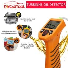 Obd2 acessórios do carro testador de óleo do motor para verificação automática qualidade do óleo detector com display led analisador gás ferramentas teste carro