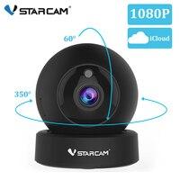 Vstarcam 1080 p 2mp dome mini câmera ip g43s sem fio wi fi câmera de segurança ptz cam ir noite câmera de vigilância em casa monitor do bebê Câmeras de vigilância     -