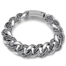 цена 925 Sterling Silver Arabesque flower wisteria chain name Bracelet Jewelry Women Men Bracelet Bangle онлайн в 2017 году