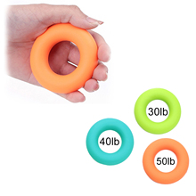 Portable Rubber Hand Grip Gripping Ring Carpal Expander Finger Trainer Strength