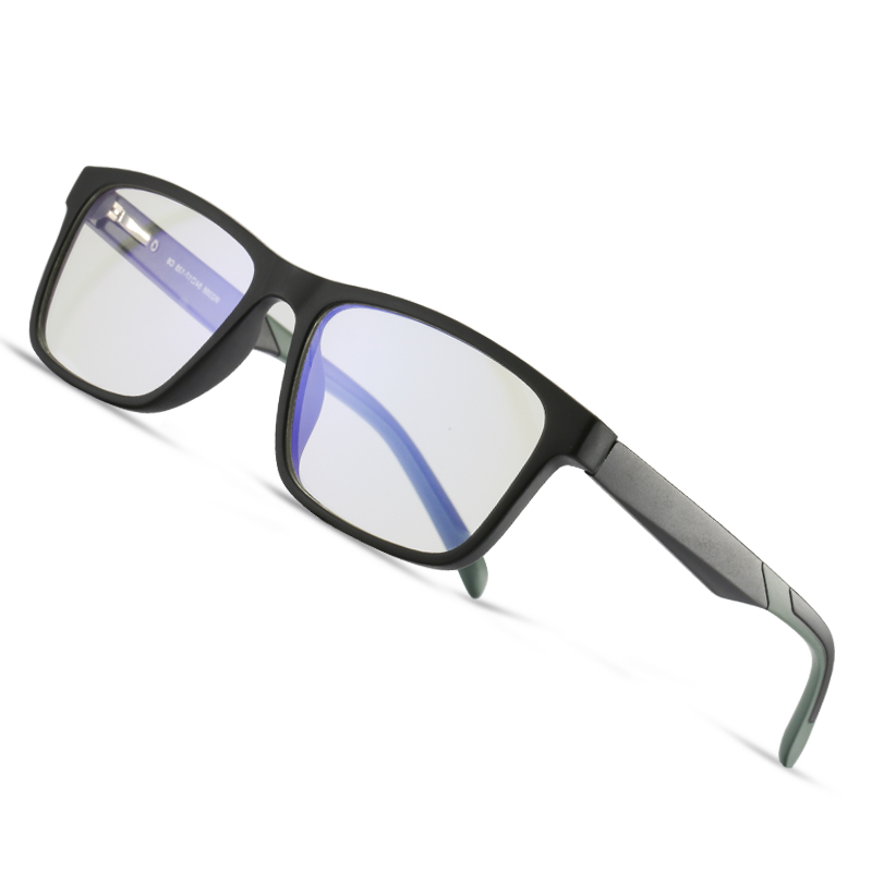 AOFLY BRAND DESIGN Blue Light Blocking Glasses Men Square TR90 Optics Frame Fashion Computer Gaming Eyewear Male UV400