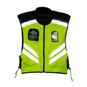 Image 3 - Gilet de sécurité réfléchissant pour motocyclette, gilet de protection et visibilité pour motocyclette, vêtement de sécurité
