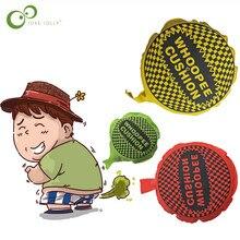 Bebé niños travesura divertida divertido juguete esponja pedo Pad pedos bolsa almohada travieso juguete chistes para niños juguete adulto LXX