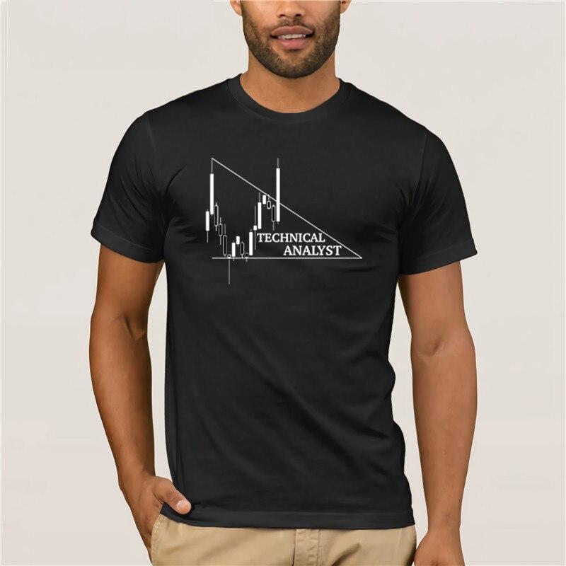 Personnalisé Forex analyste technique hommes t shirt col rond classique t shirt lumière du soleil urbain t shirt Gris Kawaii Hiphop |