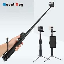 MountDog Wireless Bluetooth Selfie Stick for iPhone Xiaomi Tripod Portable Control Monopod Handheld for GoPro Hero 7 6 Yi Camera