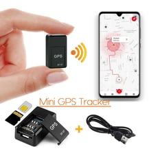 Mini GPS Tracker Car GPS Locator Anti-theft Tracker Real Time Car Gps Tracker Anti-Lost Recording Tracking Device Voice Control