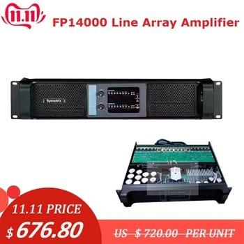 Baru! 2 Channel Amplifier FP14000 Line Array Amplifier Profesional 2X2350W Suara Profesional Power Amplifier Line Amp