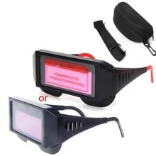 Pro Solar Auto Darkening Welding Mask Helmet Eyewear Goggles  Welder Glasses E65A