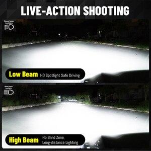 Image 3 - Bombillas de luz Led para coche, Faro de 360 grados, H8, H9, H1, H11, H7, 9012, 9006, HB3, 9005, 6000K, 8000K, Universal Mini