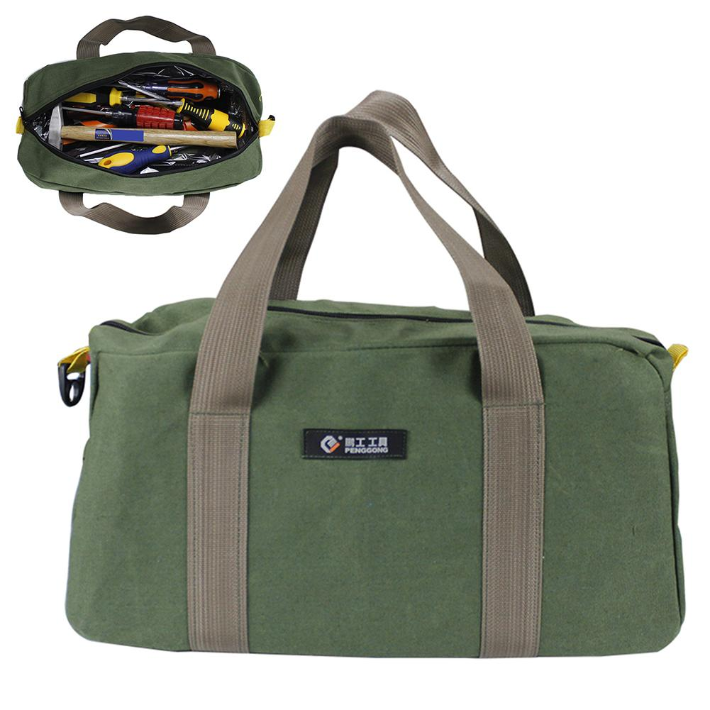 Multifunctional Portable Hardware Tool Bag Electrician Waterproof Oxford Canvas Storage Bag Hand Repair Tool Bags Toolkit Pouch