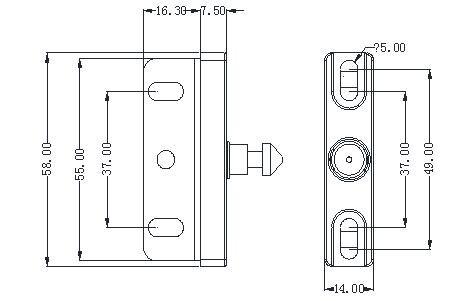 Hb0a1cf7bd5ef4f54aeec043a83a1c68dZ Electronic Keyless Digital Door Lock, Invisible RFID Locker Card hidden Lock for Private Drawer, wardrobe cabinet door lock