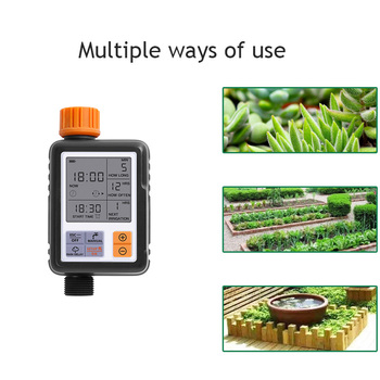 Automatic Electronic LCD Display Sprinkler Controller Outdoor Garden Timer Automatic Watering Device Irrigation System Yard Tool 1