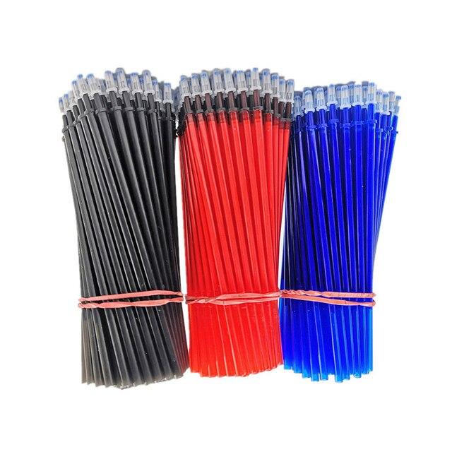 25 pcs/set Erasable Gel Pen Refills Rod 0.5mm Washable Handle Magic Erasable Pen for School Pen Writing Tools Kawaii Stationery 2