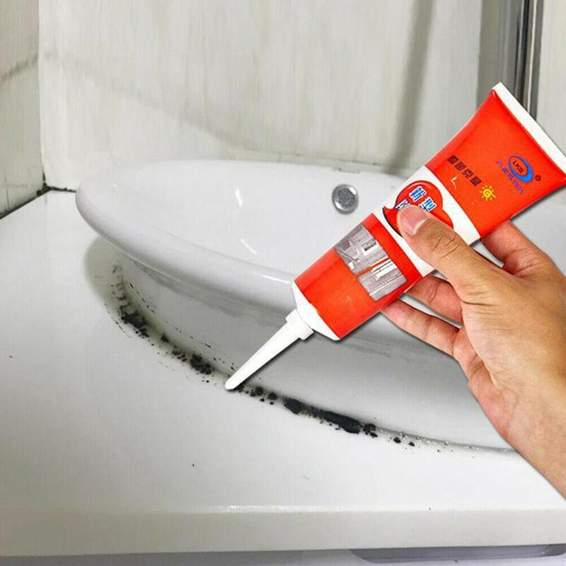 1PCS Household Chemical Miracle Deep Down Wall Mold Mildew Remover Cleaner Caulk Gel Mold Remover Gel Contains Chemical Free