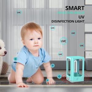 Image 2 - UV Light Sterilizer Smart Sensor Ultraviolet Sterilizer USB Ultraviolet  Disinfection Light Quartz Lamp LED UVC Germicidal Lamp