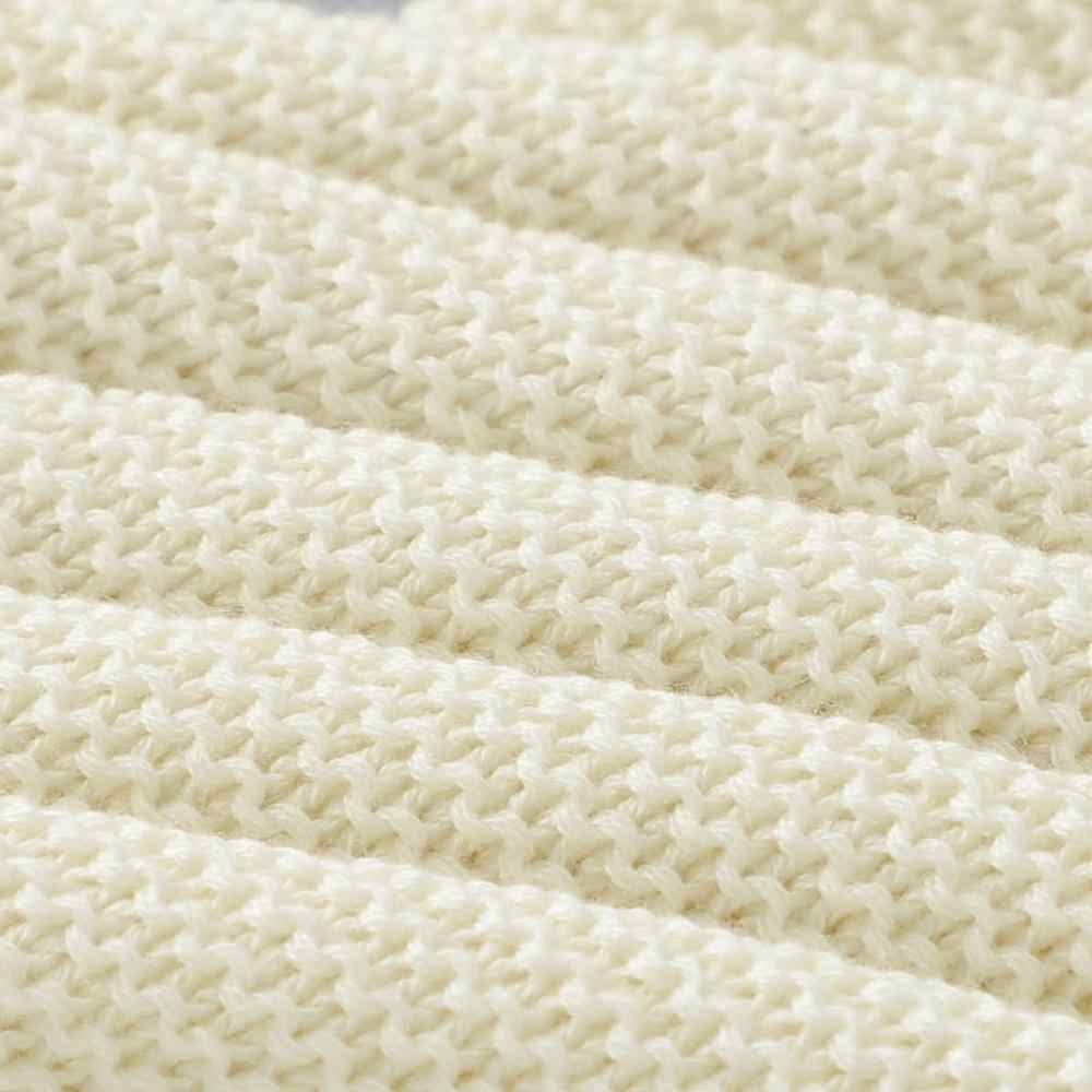 Decken Neugeborenen Gestrickte Baumwolle Super Weiche Infant Swaddle Baby Mädchen Jungen Kinderwagen Decke Cobertor Infantil Wrap Kinder Monatliche