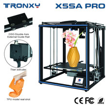 Tronxy X5SA PRO 3D Printer FDM Linear Guide Rail High Precision Titan Extruder DIY Kit Stable Motherboard Auto Level Machine
