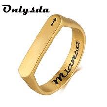 Женское и мужское геометрическое кольцо Onlysda, винтажное свадебное Ювелирное Украшение с геометрическим рисунком викингов, подарок для влюб...
