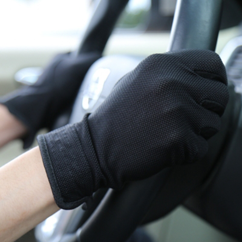 Women Driving Gloves Autumn Summer Sunscreen Thin Spandex Cotton Decent Nonslip Gloves Touch Screen Glove Mittens