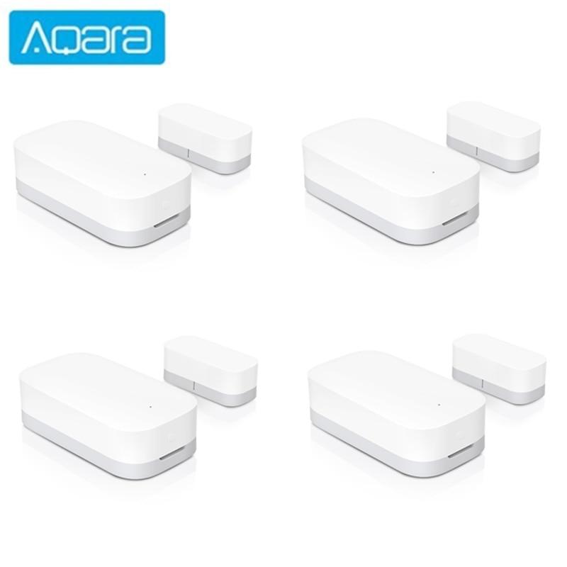 Aqara Door Window Sensor Zigbee Wireless Connection Smart Mini door sensor Work With APP Mi Home For Xiaomi mijia smart home(China)