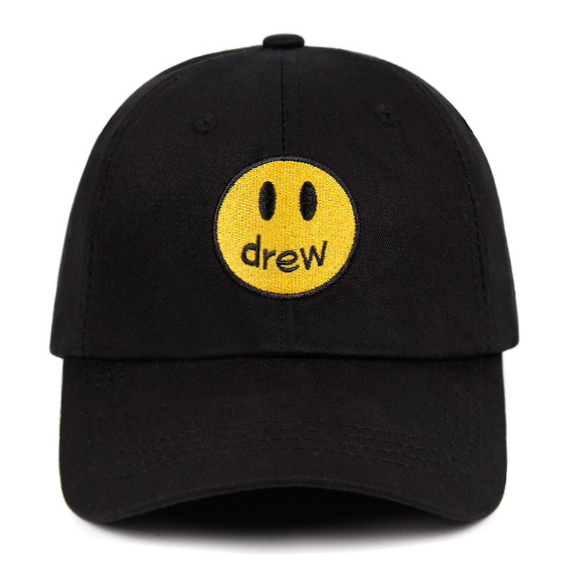 Hat Snapback Baseball-Cap Trend-Caps Drew House Fragment Dad-Hat Face Justin Street Bieber