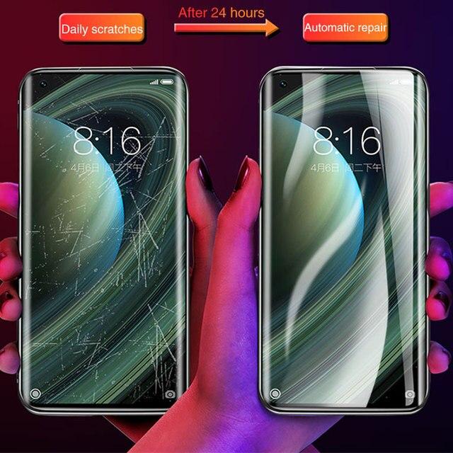 Screen Protector For Xiaomi Mi Note 10 10T Pro Lite Full Cover Hydrogel Film For Xiamo Mi 10 Lite 9 8 SE CC9 Pro A2 MIX 2 S 3 11 5