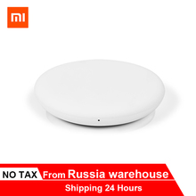 2019 New Original Xiaomi White Wireless Charger 20W Max Qi charging standard For  Mi 9 Qi EPP Compatible 5W For iPhone XS XR