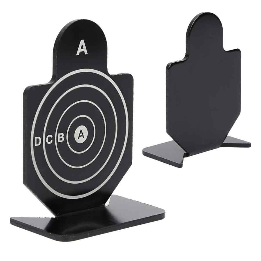 Durable Circular Pattern Metal Pistol Gun Practice For Small Hunting Shooting Aim Target For Hunting Accessory