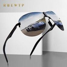 RBEWTP Ретро винтажные мужские солнцезащитные очки ночного видения, поляризованные солнцезащитные очки для вождения, мужские очки, аксессуары для мужчин/женщин