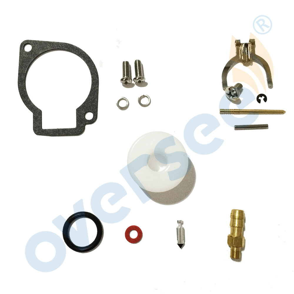 3F0-87122-1 3F0-87122 Carburetor Repair Kit For TOHATSU <font><b>2.5HP</b></font> 3.5HP 2 STROKE <font><b>Outboard</b></font> Engine <font><b>Motor</b></font> 3F0-87122-2 image