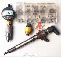 Para simens vdo diesel injector de trilho comum armadura elevador teste ferramentas medição ajustando juntas arruela calços