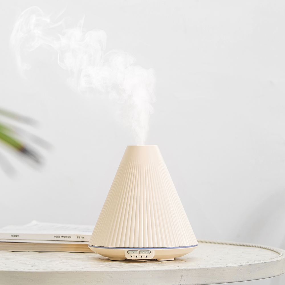 Electric Incense Burner Ultrasonic Air Humidifier Pink Mute Bedroom Incense Holder Porte Encens Home Aroma Oil Burner MM60XXL