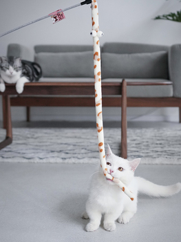 Teaser Stick for Cats. Interactive toy 2