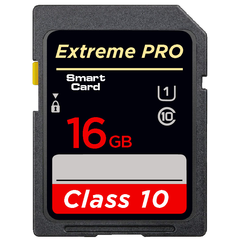 Professional Memory Card 32GB U1 SDHC 64GB 128GB U1 SDXC High Speed SD Card For Digital SLR/HD Camera