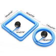 Аквариумный аквариум квадратное/круглое кольцо кормушка для
