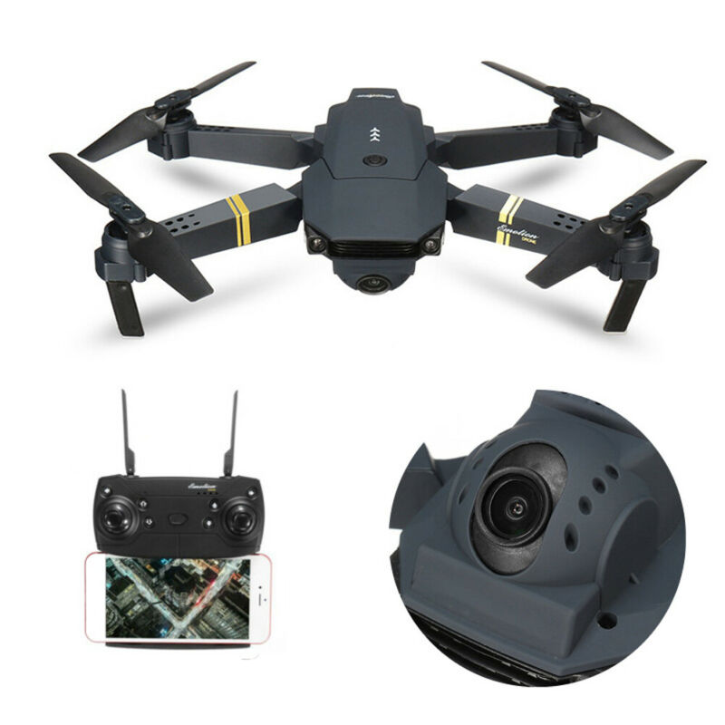 Drone X Pro Foldable Quadcopter WIFI FPV 1080P HD Camera with Extra Batteriesi U