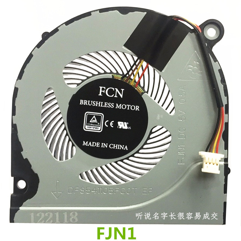New CPU Cooler Fan For Acer Predator Helios 300 G3-571 G3-572 G3-573 N17C1 N17C6 Nitro5 AN515 -51 52 53 41 A715-71 PH315 PH317
