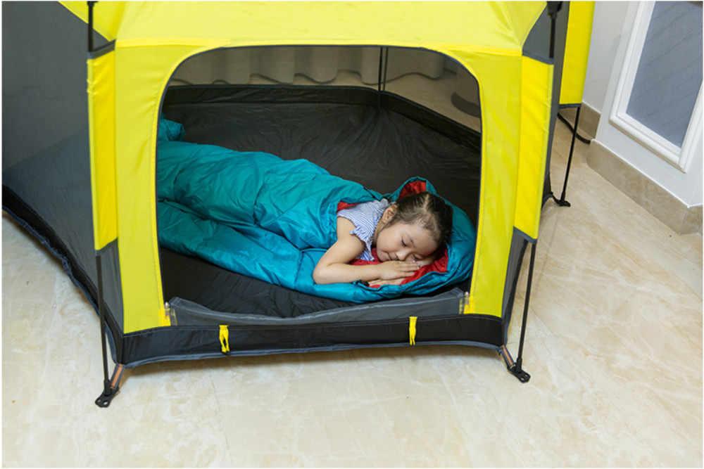 IMBABY תינוק אוהל בית משחק צעצועי נייד מתקפל תינוק משחק בית ילדים לול יבש בריכת כדורי גדר חיצוני תינוק טירה אוהל