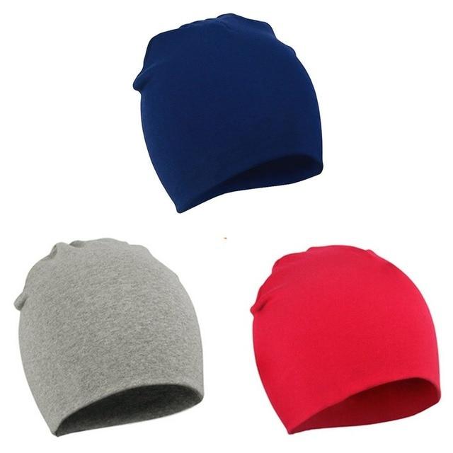 Multicolored Cotton Hat for Kids 3
