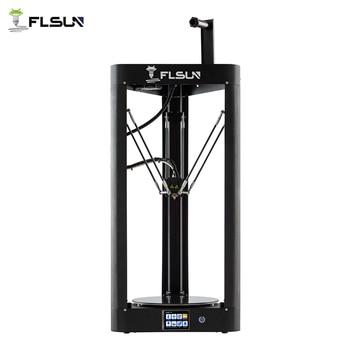 3D Printer Flsun QQ-S Delta Kossel Auto-Level Upgraded Resume Pre-assembly TFT 32bits board impressora 3d - DISCOUNT ITEM  47% OFF All Category