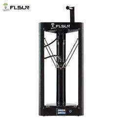 3d принтер Flsun QQ-S Delta Kossel с автоматическим уровнем обновленная предварительная сборка TFT 32 бита плата impressora 3d