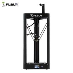 Impresora 3D Flsun QQ-S Delta Kossel Auto-nivel actualizado resumen premontaje TFT 32bits placa impressora 3d