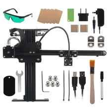 NEJE Master 20W Mini Laser Engraving Machine Desktop CNC Laser Engraver Wood Router Cutting for Metal/Wood/Plastic