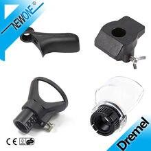 4 pçs mini broca elétrica gravador moedor ferramenta elétrica rotativa, lixando polimento guia acessório ferramenta rotativa acessórios para diy