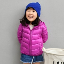 90% Duck Down Jacket Coat Baby Girls Boys Parka Kids Jacket Hood Winter Children Jacket Spring Fall Toddler Outerwear 1-14 Year