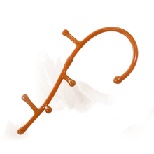 Trigger Point Self Massage Stick Theracane Body Muscle Relief Back Hook Thera Cane Therapeutic Relaxation Acupoint Pressure Tool