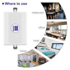 Image 4 - Lintratek 70dB 23dBm GSM 3G Cell Signal Booster UMTS 2100mhz GSM 900mhz Cellular Signal Repeater AGC/ALC Amplifier NEW Arrival @